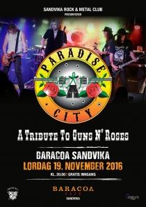 Paradise City @ Baracoa Sandvika