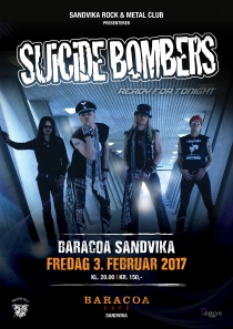 Suicide Bombers @ Baracoa Sandvika