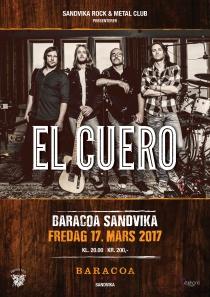Plakat El Cuero Baracoa 2017 A3