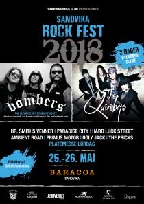 Plakat Sandvika Rock Fest 2018 A3
